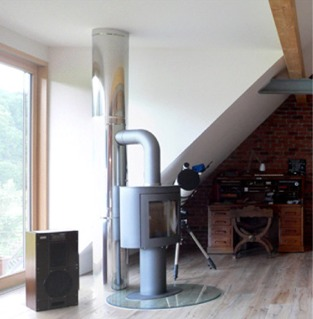 edelstahlrohr f r kamin mn14 hitoiro. Black Bedroom Furniture Sets. Home Design Ideas